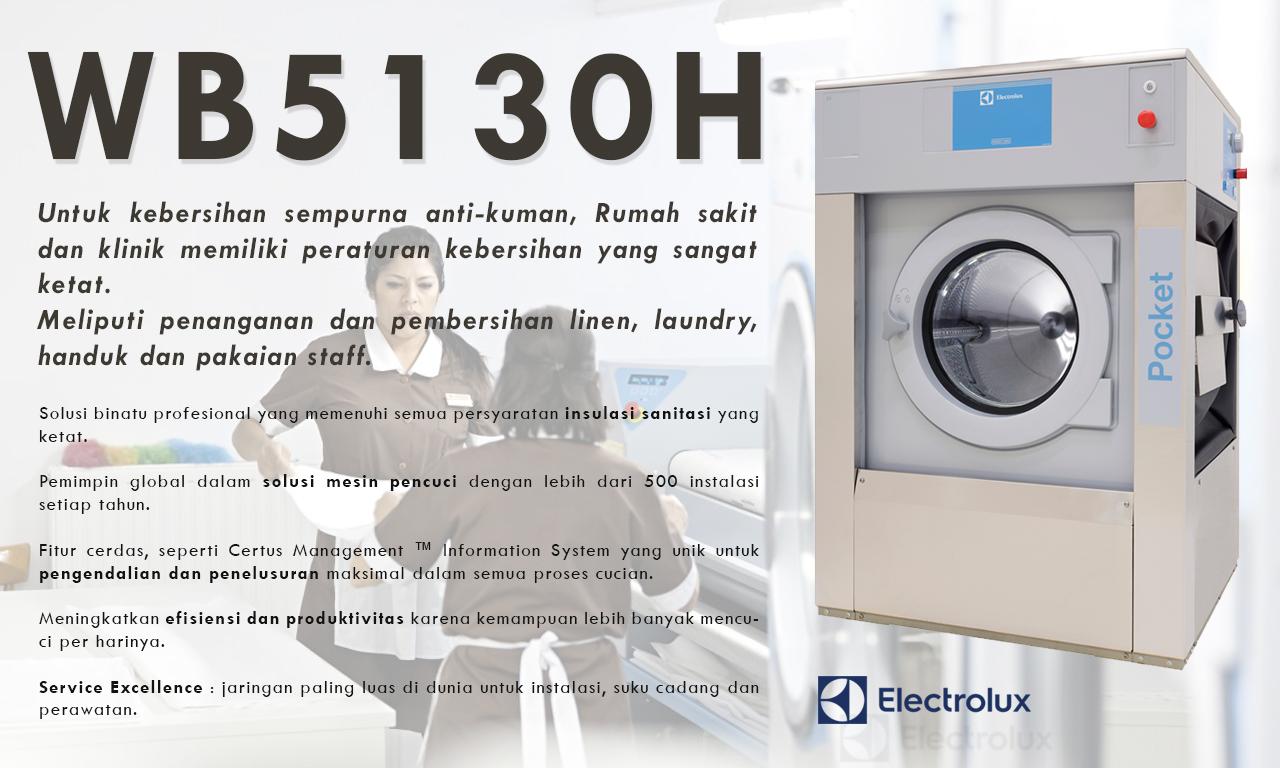 Mesin laundry electrolux
